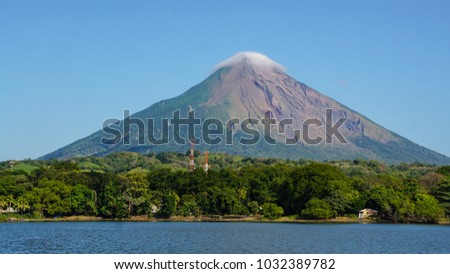 Shutterstock Volcano Concepcion on Ometepe Island in Nicaragua.