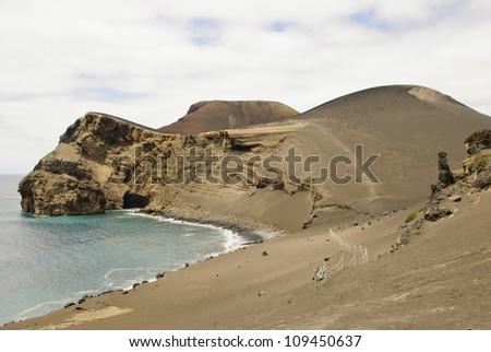 Volcano dos Capelinhos, Faial island, Azores