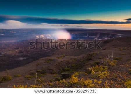 Volcano erupting on Big Island,  Hawaii #358299935