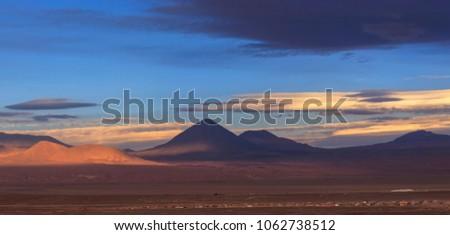 Volcano Likankabur, Atacama Desert, Chile