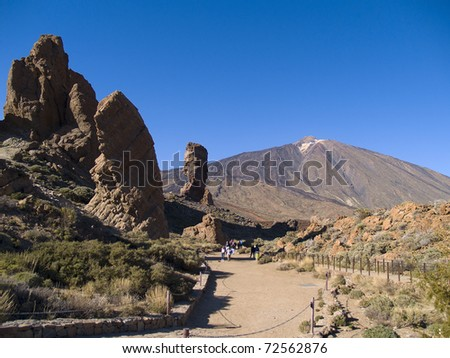 volcano Teide, Tenerife, Spain