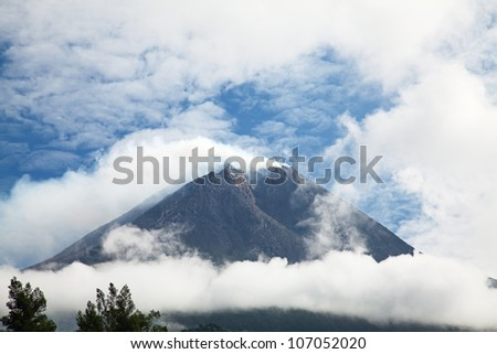 Volcanoes of Bromo National Park, Java, Indonesia