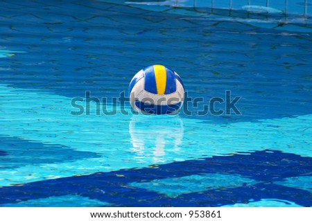 Voleyball lost in waterpool