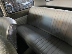 Volkswagen Beatle back seat leather, pvc leather ,car interior clean