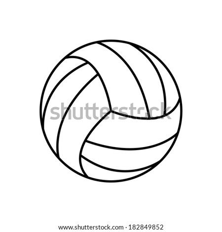 volleyball ball - icon