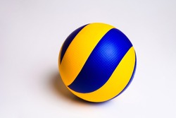 volleyball ball on white background.