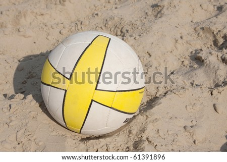 volleyball in the sand court
