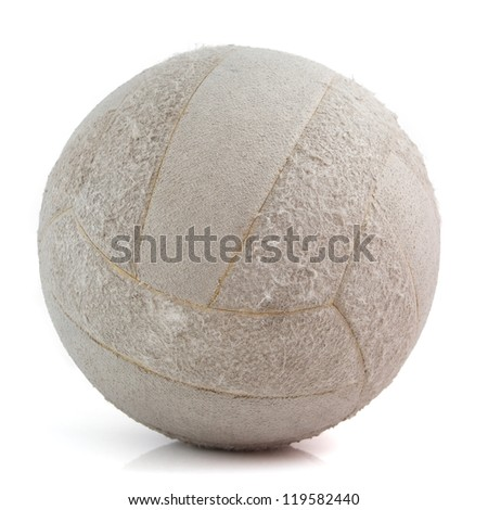 Volleyball isolated on white