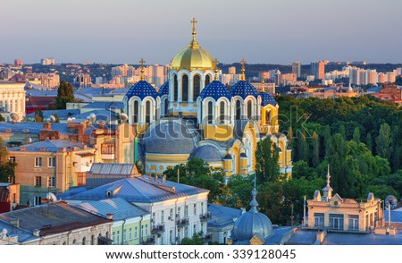volodymyr s cathedral in kiev...
