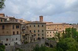 Volterra - old italian historic building