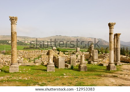 Volubilis is the best preserved Roman site in Morocco, and features some brilliant mosaics. It was declared a UNESCO World Heritage site in 1997.