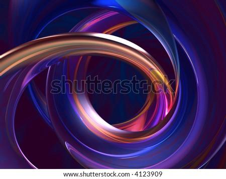Vortex abstract illustration