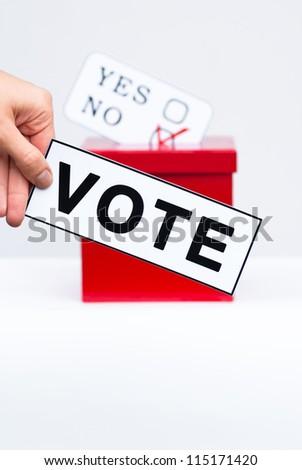 vote concept - stock photo