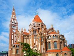 Votive Church Szeged Hungary