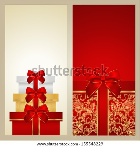 Voucher Gift Certificate Coupon Gift Card Template With Border – Voucher Card Template