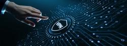 VPN network security internet privacy encryption concept