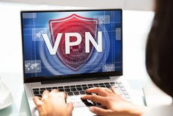 VPN Web Security Technology For Computer Network