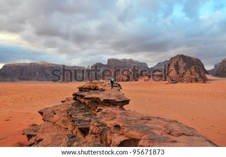 Wadi Rum in Winter, Southern Jordan