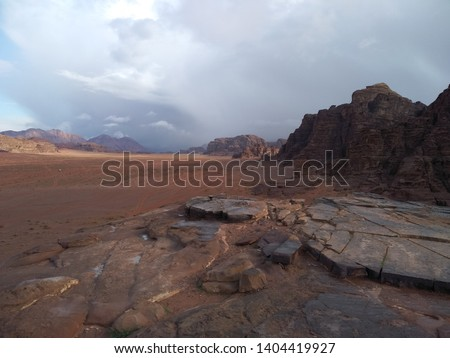 Wadi Rum the Red Desert Jordan