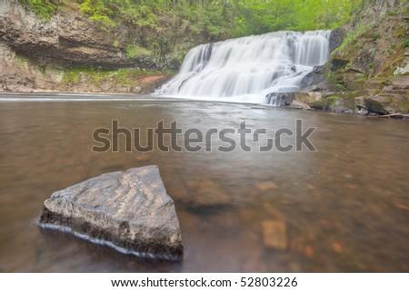 Wadsworth Falls during Springtime HDRI Image Horizontal