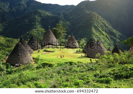 Shutterstock Wae Rebo Village in Indonesia