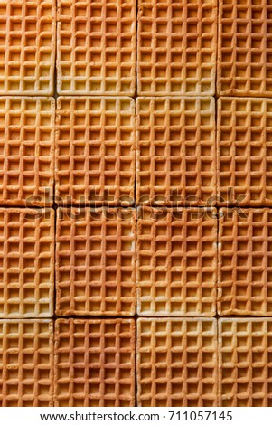 Waffles background