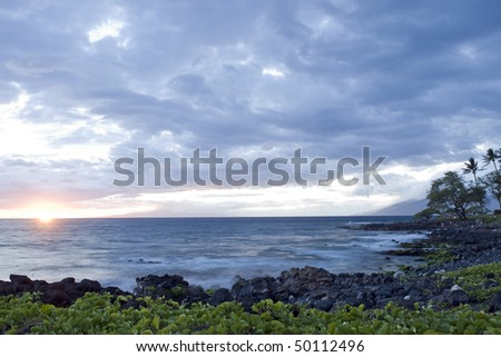Wailea at Sunset, Maui, Hawaii