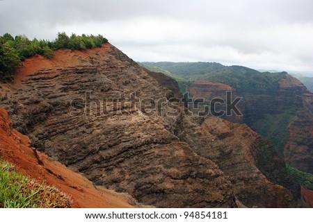 Waimea Canyon State Park West Kauai Hawaii