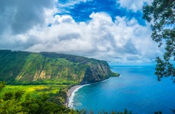 Waipio Valley Lookout Big Island Hawaii - Perfect Landscape picture