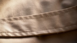 Waist band of trench coat