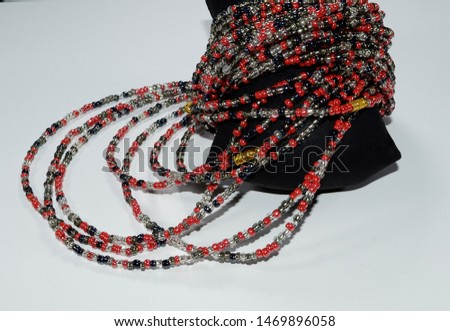 waist beads-African Waist Beads- Waist Beads-Hip Ornament-Assorted Waist Beads - Belly Chain - Belly Beads-Beads- lose weight- #1469896058