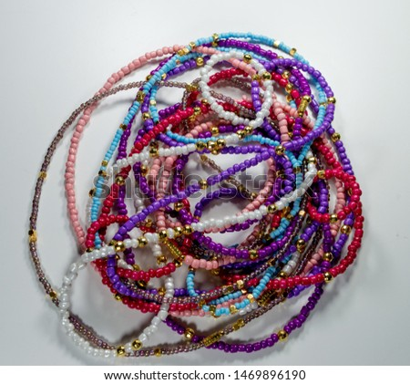 waist beads-African Waist Beads- Waist Beads-Hip Ornament-Assorted Waist Beads - Belly Chain - Belly Beads-Beads- lose weight- #1469896190