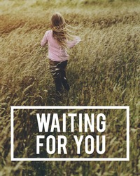 Waiting For You Word Text