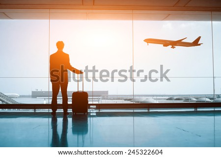 waiting in the airport