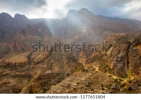 wajma, mountain oman
