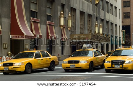 Waldorf Astoria on Park Ave in New York city