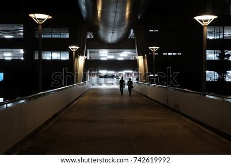 Walk Way 2 - Shutterstock ID 742619992