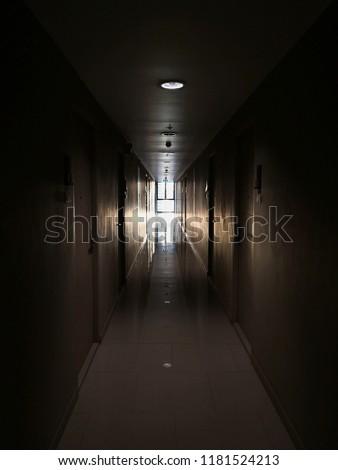 walk way in the dark #1181524213