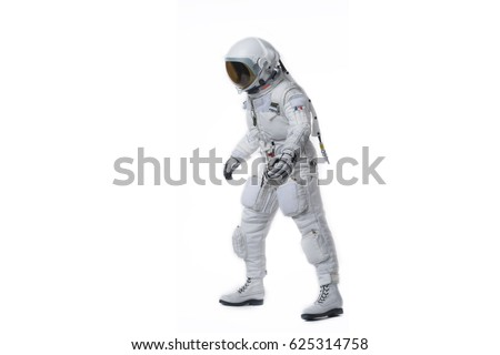 Walking astronaut