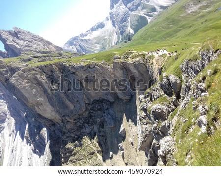 Walking on the mountains - Trentino Alto Adige - Italy #459070924