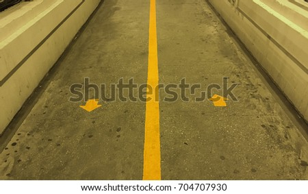 walking path on the overpass...
