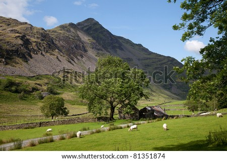 Walking the Cnicht (also known as the Welsh Matterhorn) mountain within the Snowdonia national park North Wales