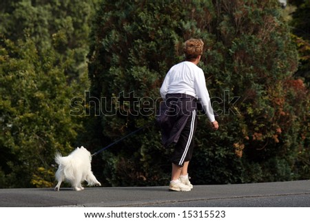 Walking the Dog - Aukland, New Zealand