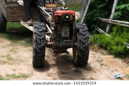 Walking tractor for farmer #1431039314