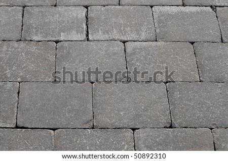 Walkway stones pattern - stock photo
