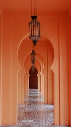 walkway style arab