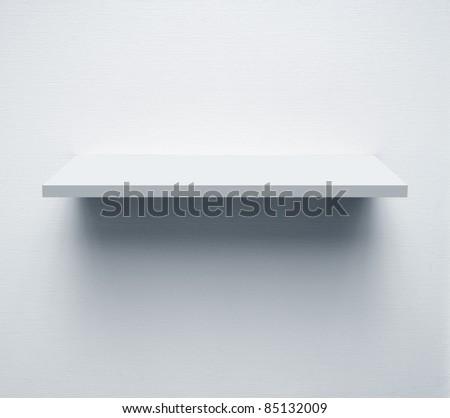 wall and shelf