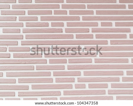 Wall brick and wood texture