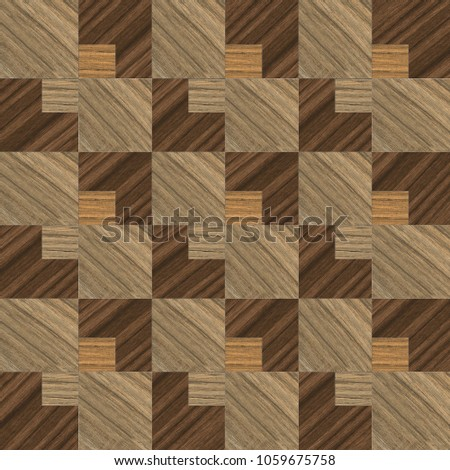 Wall decorative tiles, Decorative paneling pattern, mosaic wooden background #1059675758