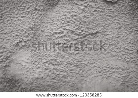 Wall foam insulation to save heating energy